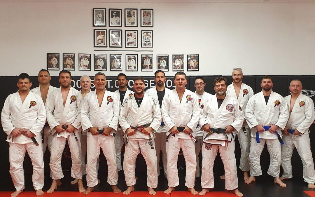 Mestre Jorge Pereira Seminars & Grading