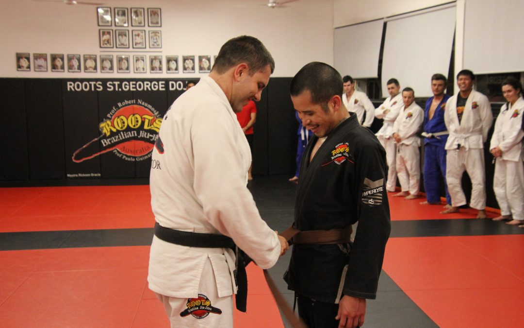 Roots Brown Belt Grading: Paul Lee