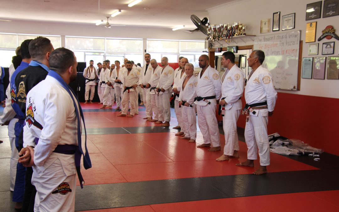 Roots Grading: our newest Purple Belts